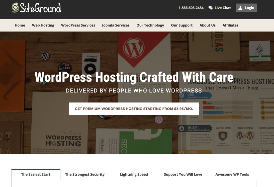 WebHosting for WordPress | SiteGround