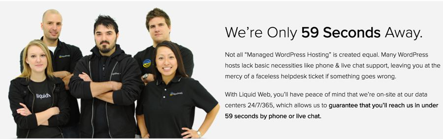 Liquid Web Support