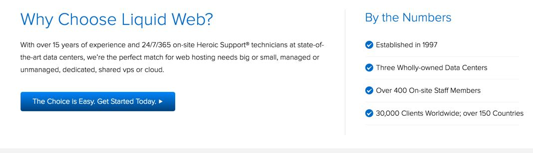 Web Hosting for WordPress | Liquid Web