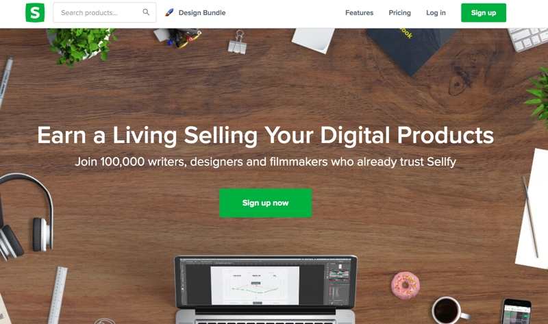 sellfy digital platform review