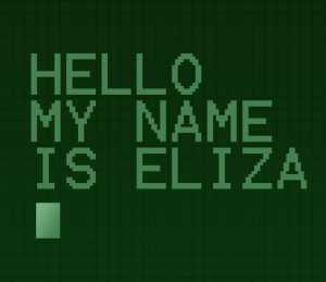 FIRST CHATTER BOT ELIZA