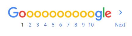 Google pagination Blog SEO