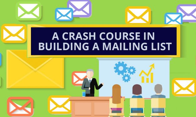A Crash Course In Building a Mailing List