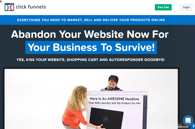 Membership Site Services Review - Click Funnels