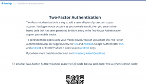 Blur Authentication