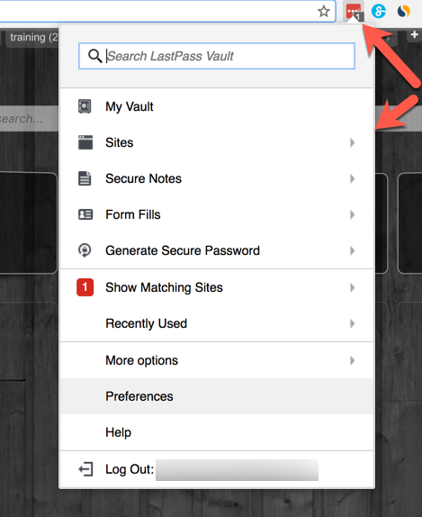 LastPass Works with Chrome
