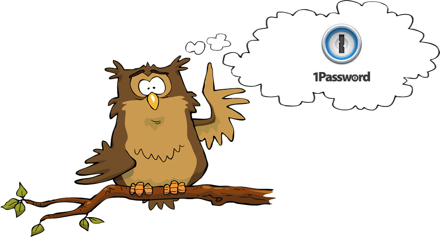 Smart Owl Says Check Out 1Password