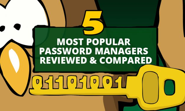 Five Most Popular Password Managers | Reviewed & Compared
