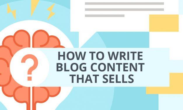 Write Blog Content