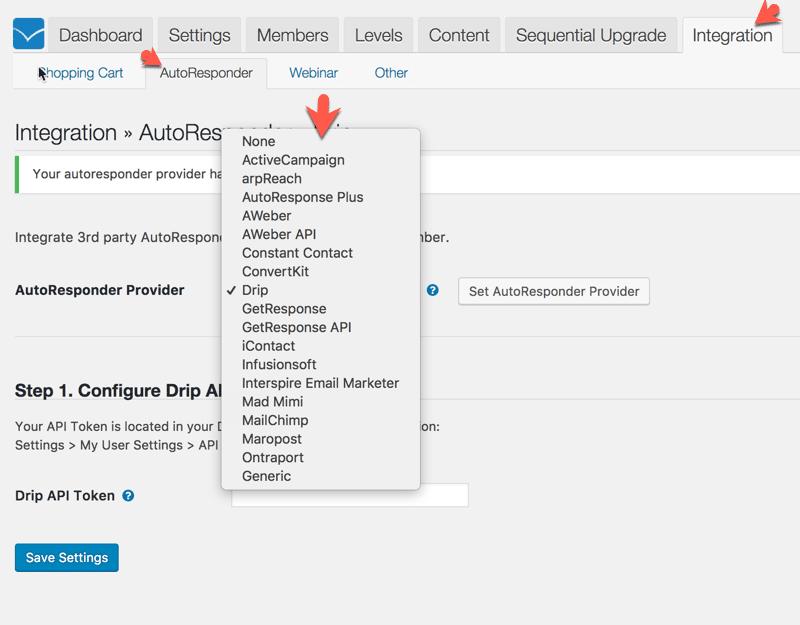 Membership Site Services Review - WishList Autoresponders