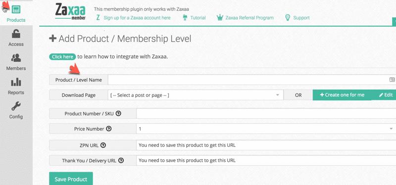 Membership Site Services Review - Zaxaa Membership Dash