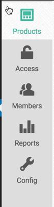 Membership Site Services Review - Zaxaa Menu