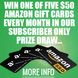 Enter To Win an Amazon Gift Card!