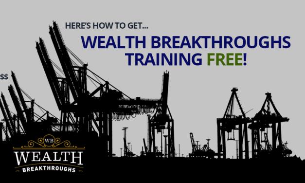 Wealth Breakthroughs – Training Free!