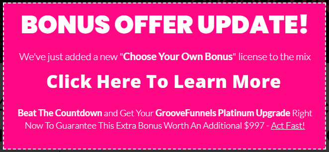 Best GrooveFunnels Bosunes -Groove Funnels Passive Income GrooveFunnels
