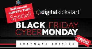 Black Friday - Cyber Monday Digital Kickstart Sale