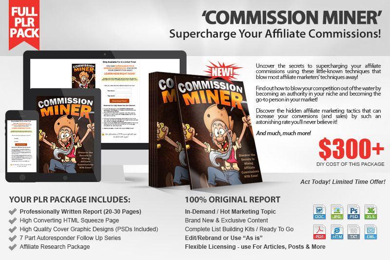 Commission Miner Kit