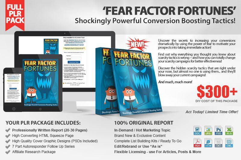 Fear Factor Fortunes Kit