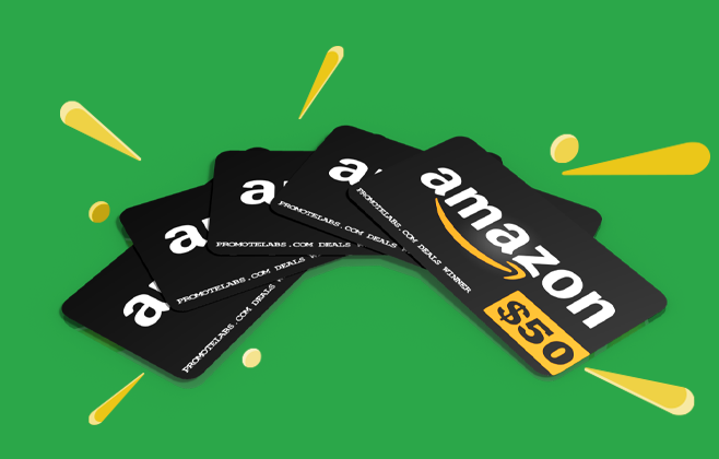 Win One Of Five Fifty Dollar Amazon Gift Cards Every Month