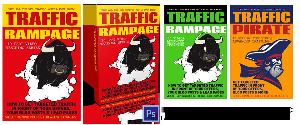 Traffic Rampage graphics