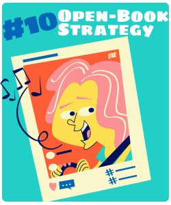 The Open-Book Strategy